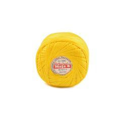 KORDONEK MAJA 8 kol.335 żółty 65X2 50g