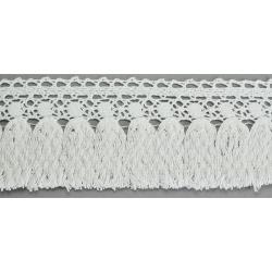 3328/01 KORONKA BAWEŁNIANA 8,5cm biała