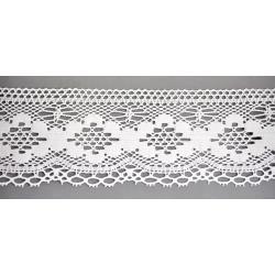 1904/01 KORONKA BAWEŁNIANA 7,5cm biała