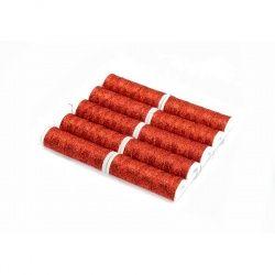 NICI METALUX 60m kol.308 jasny czerwony