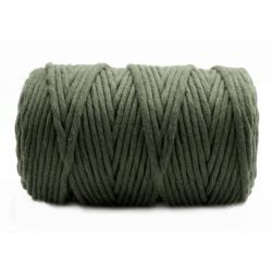SZNUREK DO MAKRAMY 5mm BAW.KHAKI (100m)