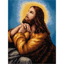 KANWA H08 30X40 8007 JEZUS MODLĄCY SIĘ