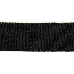 GUMA 10mm czarna-złote brzegi