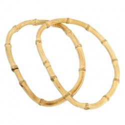 RĄCZKI DO TOREB bambus jasny