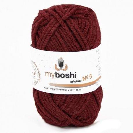 MYBOSHI Nr5 0,25 kg 535 bordowy