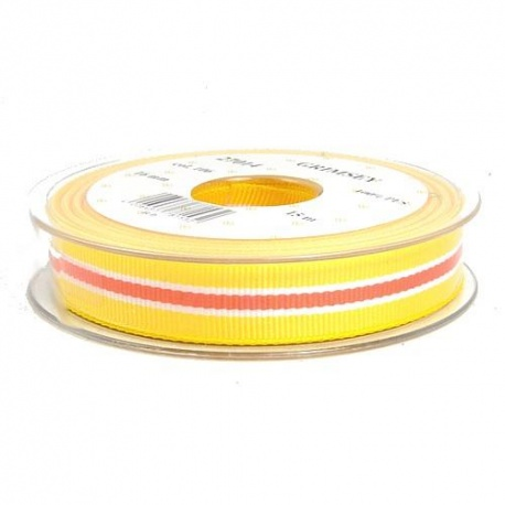 TAŚMA OZDOBNA 16 27014 col.106 żółty