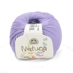 NATURA 302 100%baw.10x50g col.30 fioletowy