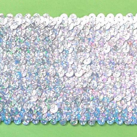 TAŚMA CEKINOWA 9-RZĘDOWA 110083 9,15m