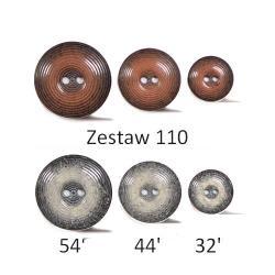 ZESTAW GUZIKÓW 110/32, 44, 54