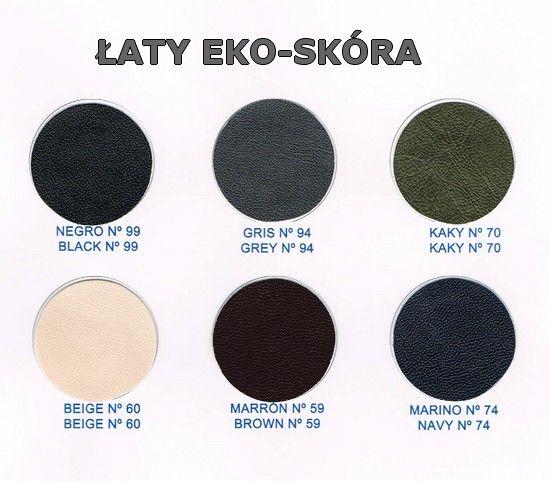 Karta kolorów - Łata z eko skóry